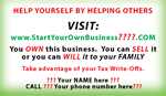 Start Your Own Business~ Business Cards